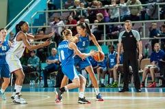 Match de basket Photo stock