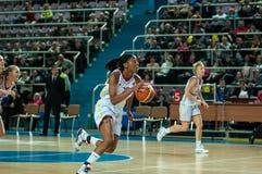Match de basket Photographie stock