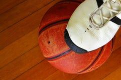 Match de basket Image stock