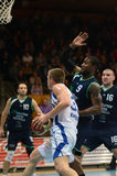Match de basket de Kaposvar - de Szeged Image stock