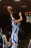Match de basket de Kaposvar - de Szeged Images stock