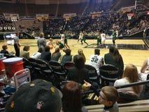 Match de basket du ` s de femmes de Purdue avec l'université de l'Ohio Photographie stock libre de droits