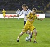 Match de football Photo stock