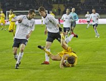 Match de football Image stock