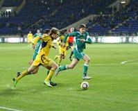 Match de football Images libres de droits