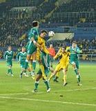 Match de football Photographie stock libre de droits