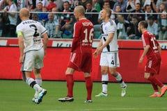 Match de football images stock