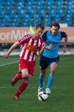Match de football d'Otelul Galati - de Poli Iasi Images stock