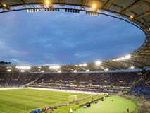 Match de football de charité du Stade Olympique Rome Image stock