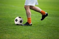 Match de football du football Images stock