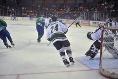 Match de hockey Images libres de droits
