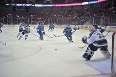 Match de hockey Photos libres de droits