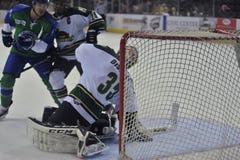Match de hockey Image stock