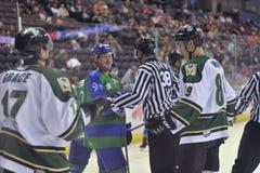 Match de hockey Photographie stock libre de droits