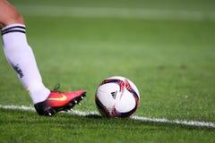 Match de ligue d'Europa de l'UEFA entre le PAOK contre ACF Fiorentina Photographie stock libre de droits