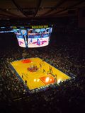 Match de NBA image libre de droits