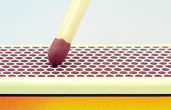 Match , extreme macro image Stock Photo