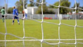 Match för fotboll (fotboll) stock video