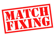 MATCH FIXING Stock Photography