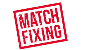Match Fixing rubber stamp Stock Image