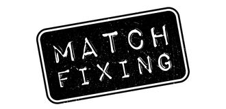Match Fixing rubber stamp Royalty Free Stock Images