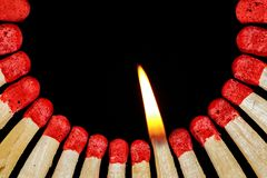Match, Flame, Lighter, Matches Stock Photo