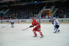 Match between hockey clubs  Stock Photography