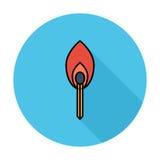 Match icon Stock Photo