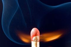 Match igniting Royalty Free Stock Photography