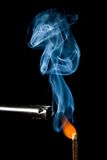 Match igniting Stock Photo