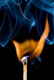 Match igniting Stock Images
