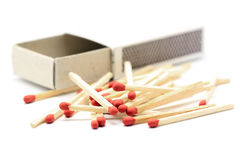 Match and matchbox Royalty Free Stock Photo