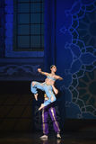 """Match partner- ballet """"One Thousand and One Nights"""" Royalty Free Stock Image"""