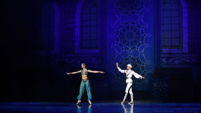 """Match partner- ballet """"One Thousand and One Nights"""" Stock Image"""