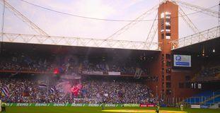 Before the match Sampdoria - Inter Royalty Free Stock Images