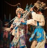 "Match a spear- Beijing Opera"" Women Generals of Yang Family"" Stock Photos"
