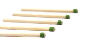 Match Sticks Royalty Free Stock Photo