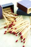 Match Sticks Stock Photo