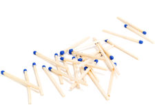 Match sticks Stock Images