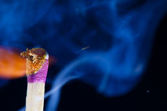 Match Strike Fire Royalty Free Stock Images