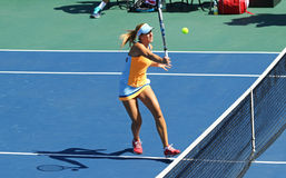 Match Ukraine de tennis de FedCup contre l'Argentine Photos stock