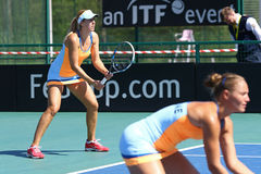Match Ukraine de tennis de FedCup contre l'Argentine Photo stock
