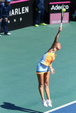 Match Ukraine de tennis de FedCup contre l'Argentine Photographie stock