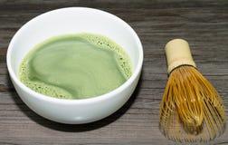 Matcha绿茶 免版税库存图片