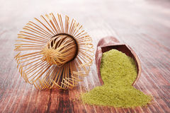 Matcha. Stock Photo