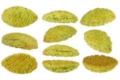 Matcha cookie Stock Photo