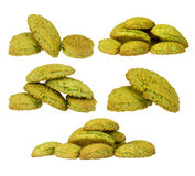 Matcha cookie Stock Images