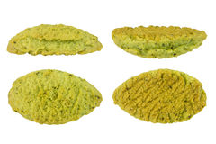 Matcha cookie Royalty Free Stock Photography