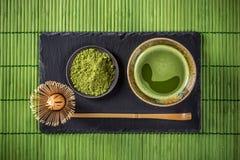 Matcha grüner Tee Lizenzfreie Stockbilder