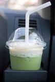 Matcha grüner Tee Stockbild